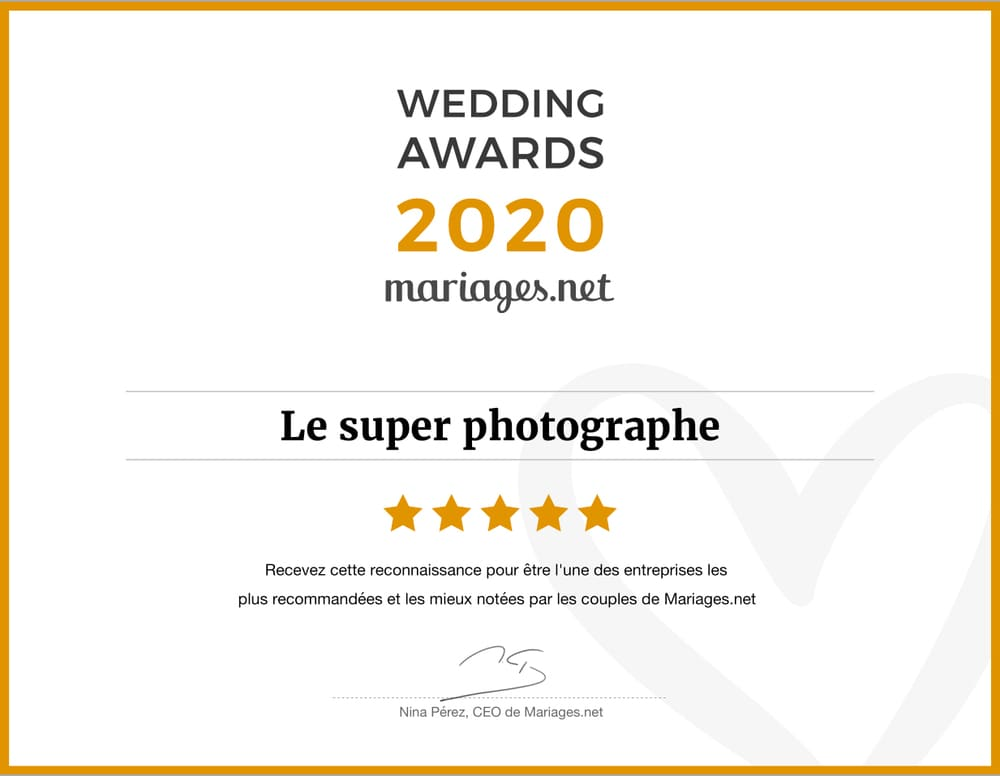 Prix wedding awards 2020